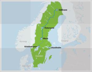 Karte © Interrail