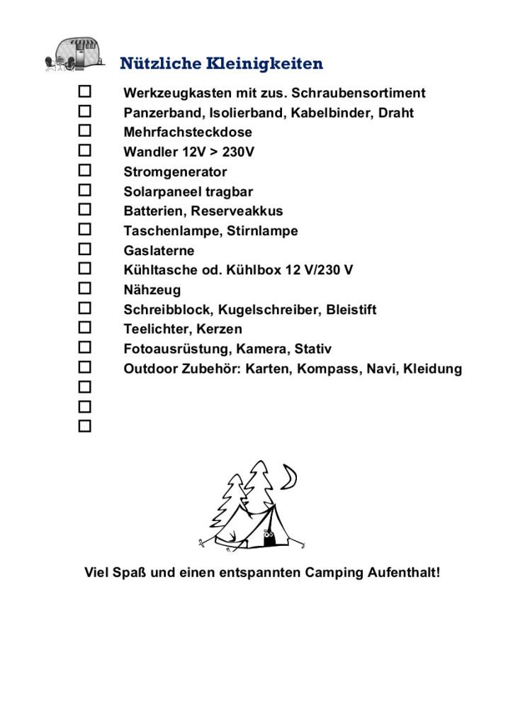 Checkliste für Camper_4